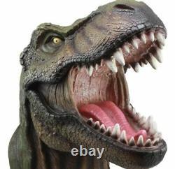 15.5 Length Large T-Rex Tyrannosaurus Rex Dinosaur Head Wall Hanging Sculpture