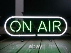 17x8New On Air Neon Sign Light Tiki Bar Pub Wall Hanging Room Nightlight Decor