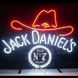 19x15Jack Daniel's Neon Sign Light Beer Bar Pub Party Home Room Wall Decor