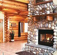 60 River Rock Stone Molds make 1000s Fireplace Wall Veneer Stones, Fast USA Ship