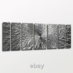 Abstract Metal Wall Art Modern Contemporary Design Sculpture Painting Home Decor