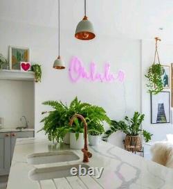 Art Neon Light Sign Oh La La Lamp Wall Decoration Custom Order Advertising