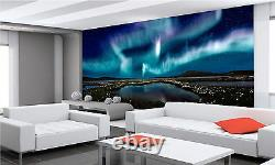 Aurora Borealis Wall Mural Photo Wallpaper GIANT DECOR Paper Poster Free Paste