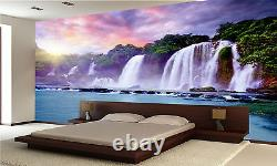 Banyue Waterfall Wall Mural Photo Wallpaper GIANT DECOR Paper Poster Free Paste