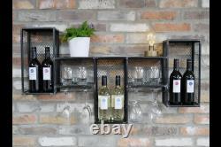 Bottle Opener Vintage Décor Wall Hang Bar Accessories Metal Wine Rack Cabinet