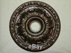 Brand New! Bronze Antique Copper Gold Chandelier Ceiling Medallion Wall Decor 19