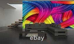 COLOURFUL ABSTRACT Wall Mural Photo Wallpaper GIANT DECOR Paper Poster