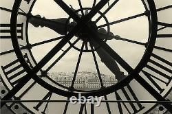 Clock and view of Montmartre Paris Wall Mural Photo Wallpaper GIANT WALL DECOR