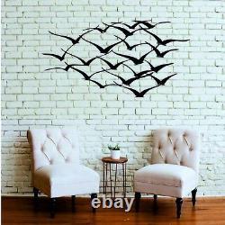 Cranes Metal Wall Art Wall Decor Home Interior Decoration Bird Art Works 5031