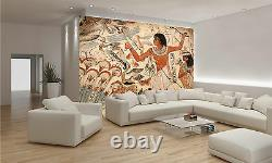 Egyptian Painted Art Wall Mural Photo Wallpaper GIANT DECOR Paper Poster