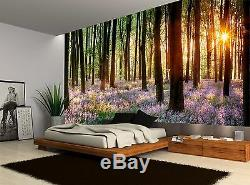 Forest Trees Plants Nature Floral Wall Mural Photo Wallpaper GIANT WALL DECOR