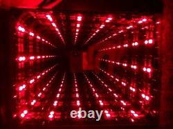INFINITY MIRROR stylish color changing LEDs with a remote control
