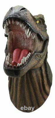 Jurassic King T-Rex Head Wall Mount 15.5 Long Tyrannosaurus Rex Dinosaur
