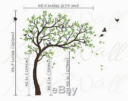 Large Tree Wall Decal Nursery decoration customization tree stickers KW032R