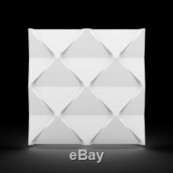 Luxury 3D Wall Ceiling Panel HARMONY 60 x 60 Decorative Cladding Wallpaper Tile