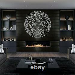 Metal Wall Art, Metal Medusa Decor, Metal Wall Decor Home Office Decoration 5096