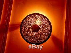 Moroccan Wall Lamp Designer Wall Sconce Brass Light Fixture New Home Decor