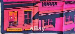 NEW+BOX GRAIL HERMES Minuit Faubourg Vintage 70 Silk SCARF Dimitri Batman Horse