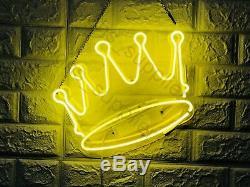 New Crown Wall Decor Artwork Neon Light Sign 15x12
