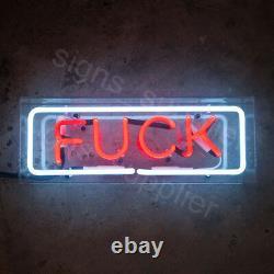 New FVCK Bar Pub Wall Decor Acrylic Box Neon Light Sign 14