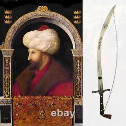 New Fatih Sultan Mehmet Han Dirilis Ertugrul IYI Sword Wall Hanging Decor Steel