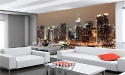 New York at Night Wall Mural Photo Wallpaper GIANT DECOR Paper Poster Cityscape