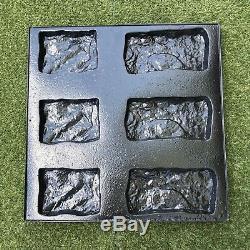 OLD CASTLE Set of 15 Molds Stone VENEER for Concrete Plaster Wall Stone Tiles