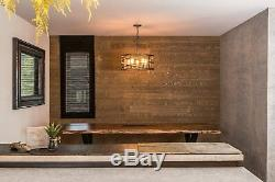 Peel and Stick Pine Wood Panel Planks Wall Decor 20 sq. Ft. 12-Count Box Sienna