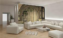 Photo Wallpaper Medieval Building, 3D GIANT WALL DECOR PAPER POSTER FOR BEDROOM