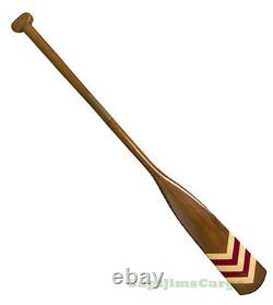 Royal Barge Oar #1 Wooden Decorative Paddle 57 Nautical Maritime Wall Decor New