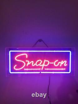Snap On Acrylic Neon Light Sign 14 Glass Artwork Decor Wall Cave