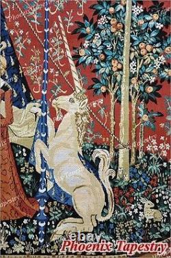 The Lady & Unicorn Medieval Fine Art Tapestry Wall Hanging DESIRE (Medium), US