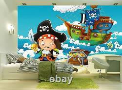 Treasure Hunt Wall Mural Photo Wallpaper GIANT WALL DECOR Paper Poster
