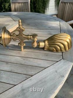 Vintage Style Cast Brass Shell Wall Picture / Up / Down Light