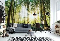 WALLPAPER MURAL PHOTO Fantasy forest WALL DECOR PAPER GIANT ART Large Trees