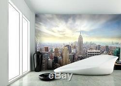 WALLPAPER MURAL PHOTO New York Skyline WALL DECOR PAPER GIANT POSTER Cityscape