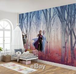 Wall Mural photo wallpaper ELSA Frozen DISNEY kids nursery beedrom decoration