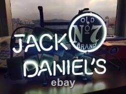14x9jack Daniel's Neon Sign Light Beer Bar Pub Wall Decor Handmade Artwork