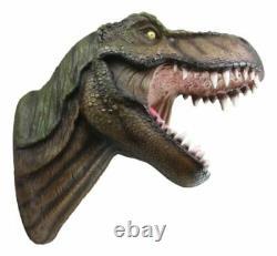 15.5 Longueur Grand T-rex Tyrannosaurus Rex Dinosaur Head Wall Hanging Sculpture