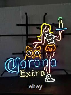 17x14corona Extra Cocktail Live Nudes Néon Sign Light Man Cave Wall Decor Cadeau