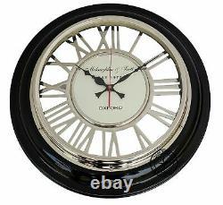 18'' Roman Numerals Round Wall Clock Vintage Replica Decorative Home Office Gift