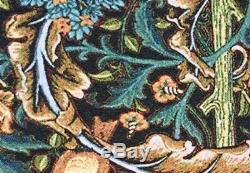 2 Grand Jeu De William Morris Métier À Tisser Mur Tissé Tapisserie Décoration Intérieure 2 X 37x158cm
