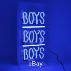 Art Neon Led Signe Filles / Boys Lampe Décoration Murale Publicité