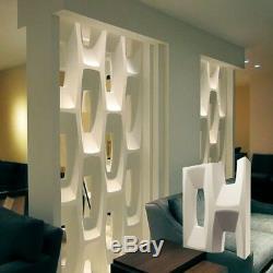 Bit Ensemble De 2pcs Murales Décoratives 3d Panneaux Blocs. Abs Moule En Plastique Pour Le Plâtre