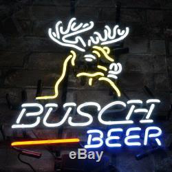 Busch Beer Bar Pub Atelier Décor Mur Chambre Néon Lumière Affiche Faite Sur Commande Cadeau