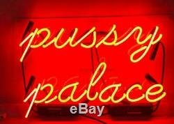 Chambre Pussy Palais Accueil Néon Lumière Beer Bar Pub Décorations Art Cadeau Visuel