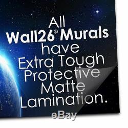 Contour Noir De New York, Sur Un Mur De Briques Mur Mural, Décoration D'intérieur -100x144