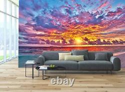 Couleurs Sunset Rainbow Sunrise Sea Wall Mural Photo Wallpaper Giant Wall Decor