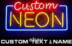 Custom Neon Sign Light Glass Tube Lamp Events Home Room Wall Decor It All Good