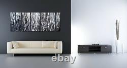 Décor Moderne Contemporain Abstrait De Sculpture De Mur En Métal D'art Peignant Le Décor À La Maison